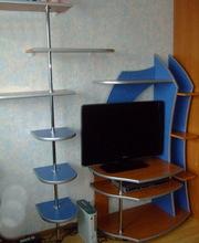 Тумба под телевизор +палка с полочками