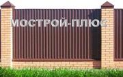 ПРОФЛИСТ ДЛЯ ЗАБОРОВ 7.80 р/м2