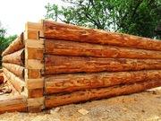Деревянные срубы для бани,  домов,  беседок