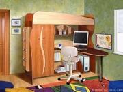 Кровать двухъярусная Альфа 3