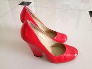 туфли красные лакированные