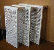 Экран металлический на радиатор 4-х,  5-ти,  6-ти,  7-ми секционные