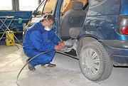 Замена порогов автомобильных