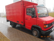 Грузоперевозки    мерседес 609 3, 5 т фургон будка 18м3 .