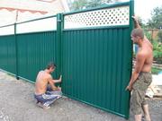 Чем огородить свой дачный дом,  или все преимущества профнастила?!