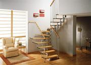 Модульная межэтажная лестница