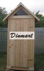 Деревянные дачные туалеты