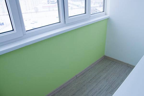 Отделка балкона - abs.