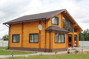 Деревянные дома из бруса по финской технологии.