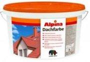 Alpina Dachfarbe Dunkelbraun краска для крыш,  цвет темно-коричневый