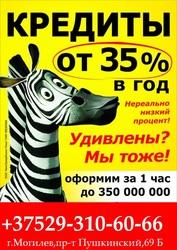 Быстрые кредиты в Могилеве