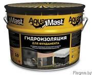 Мастика гидроизоляционная битумно-резиновая Аквамаст 10к