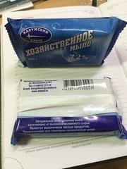 Хозяйственное мыло 72% 100 гр в упаковке