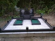 Памятники гранитные,  благоустройство