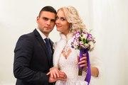Продам красивую свадебную шубку с рукавом до локтя