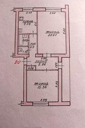 2-комнатная квартира,  д. Никитиничи