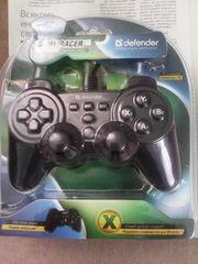 Проводной джойстик Defender Game Racer X7