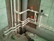 Замена водопроводных,  канализационных труб со скидкой 30% до конца мес