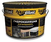 Битумная мастика AquaMast (АкваМаст) 10кг изоляционная
