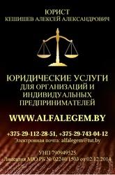 Представление интересов. Юрист в Могилеве