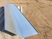 Планка ендовы нижняя 295x295x2000 мм (оцинкованная