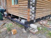 Фундамент на сваях установим в Краснополье и р-не