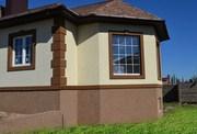Декоративная штукатурка фасада типа короед корник в Могилеве