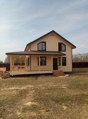 Строительство каркасных домов и бань в Краснополье